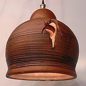 Для дома и интерьера handmade. Livemaster - original item The lamp is ceramic, ceiling.