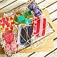 Подарочные наборы косметики ручной работы. Ярмарка Мастеров - ручная работа. Купить набор косметики большой ЯГОДНАЯ СКАЗКА  в подарочной коробке.. Handmade.