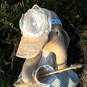 Куклы и игрушки ручной работы. Ярмарка Мастеров - ручная работа Слоняшка Лизочка. Handmade.