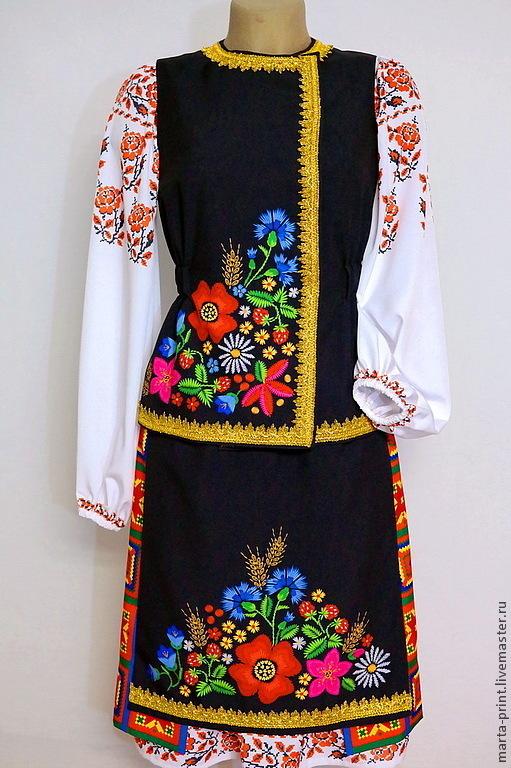 Танцевальный костюм.Украинский костюм, Пошив танцевальных и сценических костюмов на заказ