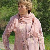 Одежда ручной работы. Ярмарка Мастеров - ручная работа Жакет валяный Майская роза. Handmade.