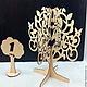 Мебель ручной работы. Дерево-подставка для украшений. Водолей (varfa). Ярмарка Мастеров. Заготовка из фанеры