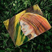 Картины и панно ручной работы. Ярмарка Мастеров - ручная работа Рыжая. Handmade.