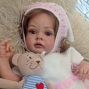 Куклы Reborn ручной работы. Ярмарка Мастеров - ручная работа Кукла-реборн Мишель(молд Chloe от Natali Blick). Handmade.