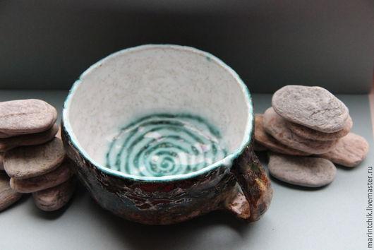 Кружки и чашки ручной работы. Ярмарка Мастеров - ручная работа. Купить Кружка Спираль времени. Handmade. Разноцветный, чашка, глина