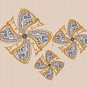 """Материалы для творчества handmade. Livemaster - original item Machine Embroidery Design Set """"Alice Flower"""" bt026. Handmade."""