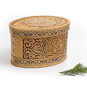 Для дома и интерьера handmade. Livemaster - original item Bread box of birch bark