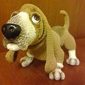 Куклы и игрушки handmade. Livemaster - original item Bassett. Handmade.