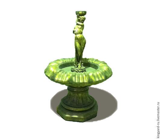Экстерьер и дача ручной работы. Ярмарка Мастеров - ручная работа. Купить Небольшой садовый адовый фонтан из бетона Афродита. Handmade.