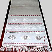 Свадебный салон handmade. Livemaster - original item Wedding towel, fringe, linen with embroidery 3 Kuban wedding. Handmade.