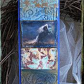 """Канцелярские товары ручной работы. Ярмарка Мастеров - ручная работа Закладка из коллекции """"Быстрее ветра"""" № 1. Handmade."""