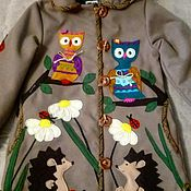 Одежда handmade. Livemaster - original item Coat baby winter