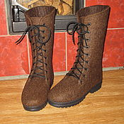 """Обувь ручной работы. Ярмарка Мастеров - ручная работа Валяные ботинки """"North"""". Handmade."""