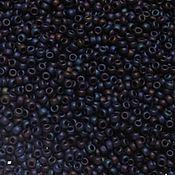 Материалы для творчества handmade. Livemaster - original item 10gr seed Beads Toho 11/0 82F nebula Japanese beads TOHO mats metal. Handmade.