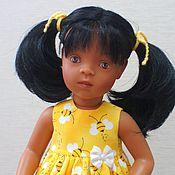 """Куклы и игрушки ручной работы. Ярмарка Мастеров - ручная работа """"Пчелка"""" - платьице для кукол. Handmade."""
