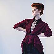 Одежда ручной работы. Ярмарка Мастеров - ручная работа Кардиган квадро. Handmade.