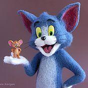 Куклы и игрушки ручной работы. Ярмарка Мастеров - ручная работа Том и Джерри. Handmade.