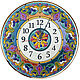 clocks, decorative,ceramic,round. Watch. Solo. Online shopping on My Livemaster.  Фото №2