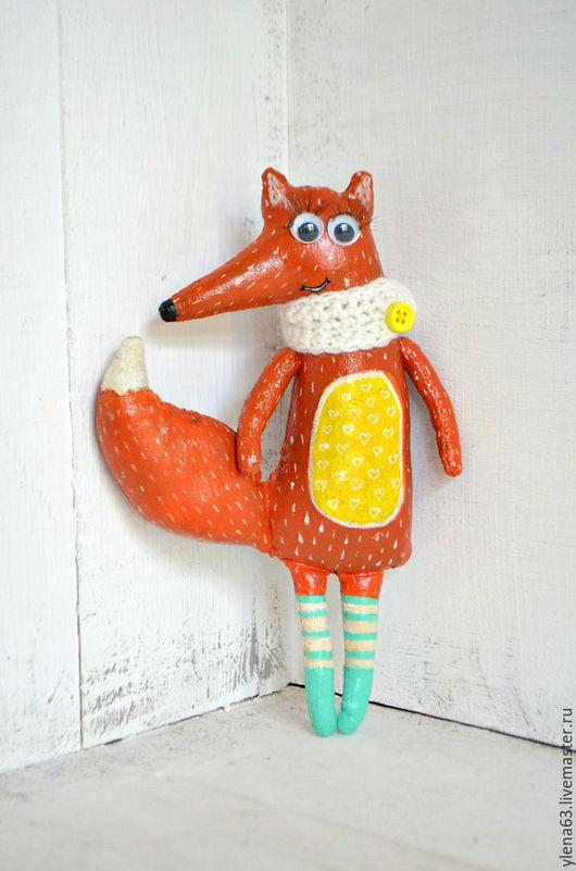 Ароматизированные куклы ручной работы. Ярмарка Мастеров - ручная работа. Купить Кофейная Лисичка. Handmade. Комбинированный, кофейная игрушка, лисичка