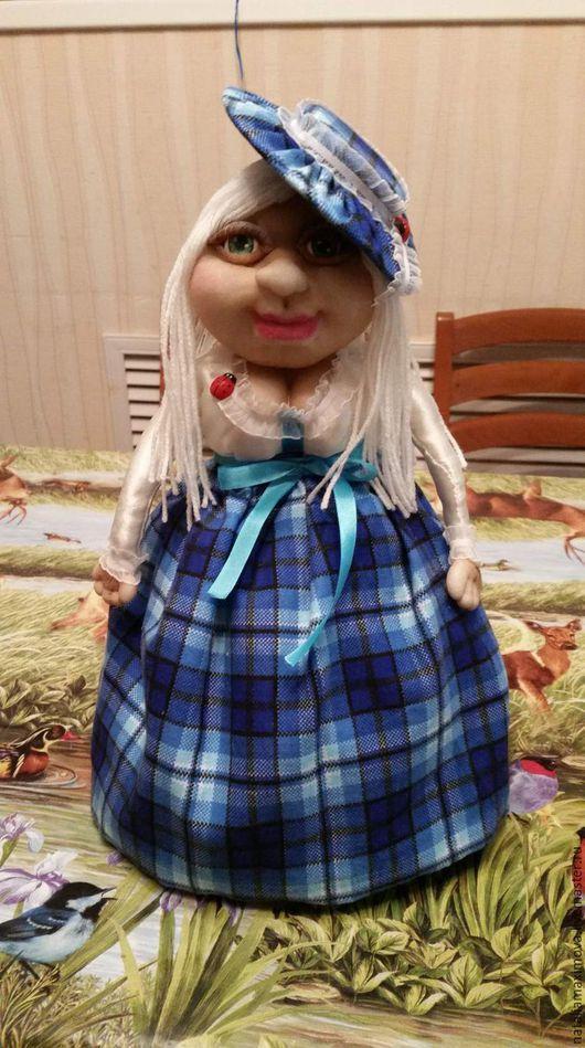 Человечки ручной работы. Ярмарка Мастеров - ручная работа. Купить Кукла на чайник. Handmade. Кукла ручной работы, кукла текстильная