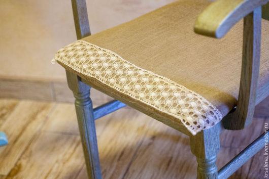Мебель ручной работы. Ярмарка Мастеров - ручная работа. Купить Жемчужный стульчик. Handmade. Морская волна, Мебель, винтаж