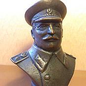 Для дома и интерьера ручной работы. Ярмарка Мастеров - ручная работа Большой бюст И. Сталин. Handmade.