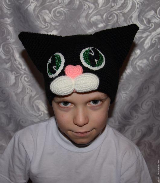 Карнавальные костюмы ручной работы. Ярмарка Мастеров - ручная работа. Купить Черная кошка. Handmade. Черный, шапка для утренника