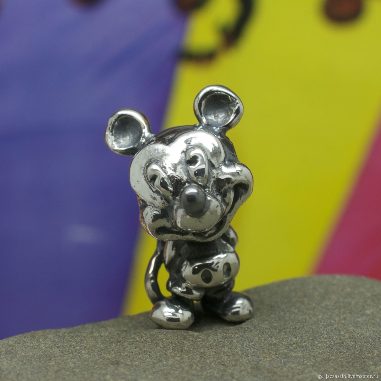 All for Jewelry Making handmade. Livemaster - handmade. Buy Mickey Mouse charm.Charm, cartoon