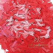 Нитки ручной работы. Ярмарка Мастеров - ручная работа Пайетки 2х8,6 мм № 4064, Италия. Handmade.
