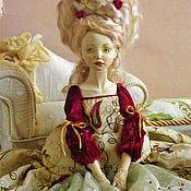 Куклы и игрушки ручной работы. Ярмарка Мастеров - ручная работа Подвижная кукла Мадлен. Handmade.