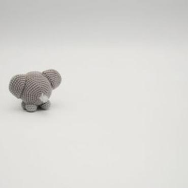 Куклы и игрушки ручной работы. Ярмарка Мастеров - ручная работа Очень одинокий слон. Handmade.
