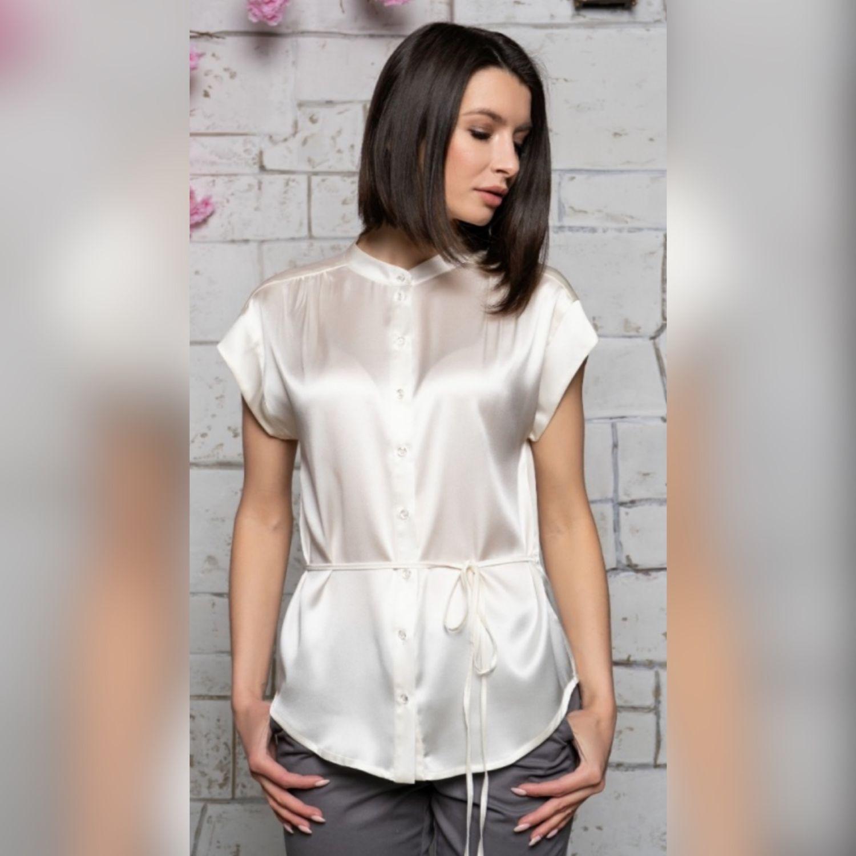 Блузка молочного оттенка, Блузки, Москва,  Фото №1