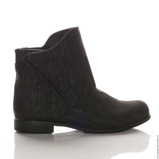 Обувь ручной работы. Ярмарка Мастеров - ручная работа. Купить Летние ботинки 8-311 (ВЧ). Handmade. женская обувь