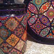 """Доски ручной работы. Ярмарка Мастеров - ручная работа Разделочная доска -панно """"Страсти по Марокко"""". Handmade."""