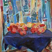 Картины и панно handmade. Livemaster - original item Picture. Winter still life with pomegranates. Handmade.