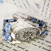 Украшения handmade. Livemaster - original item Lapis Lazuli Bracelet.. Handmade.