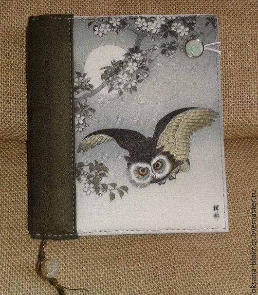 Блокноты ручной работы. Ярмарка Мастеров - ручная работа. Купить Блокнот ручной работы Полёт совы (11,5х13х3см). Handmade.