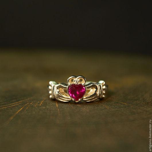 Кольца ручной работы. Ярмарка Мастеров - ручная работа. Купить Ирландские (Кладдахские) кольца. Handmade. Кладдахское кольцо, обручальное кольцо