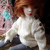 """Куклы и игрушки ручной работы. Ярмарка Мастеров - ручная работа Свитер """"Бойфренда"""". Одежда для кукол. Handmade."""