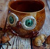 """Посуда ручной работы. Ярмарка Мастеров - ручная работа Кружка """"Медовая совунья"""". Handmade."""