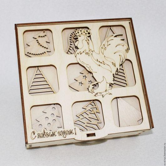 Сказочный набор Елочек со шкатулкой