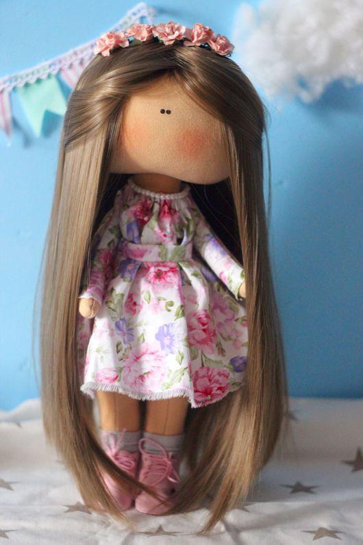 Коллекционные куклы ручной работы. Ярмарка Мастеров - ручная работа. Купить Интерьерная кукла. Handmade. Текстильная кукла, подарок