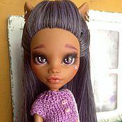 Куклы и игрушки ручной работы. Ярмарка Мастеров - ручная работа кукла Вайолет. Handmade.