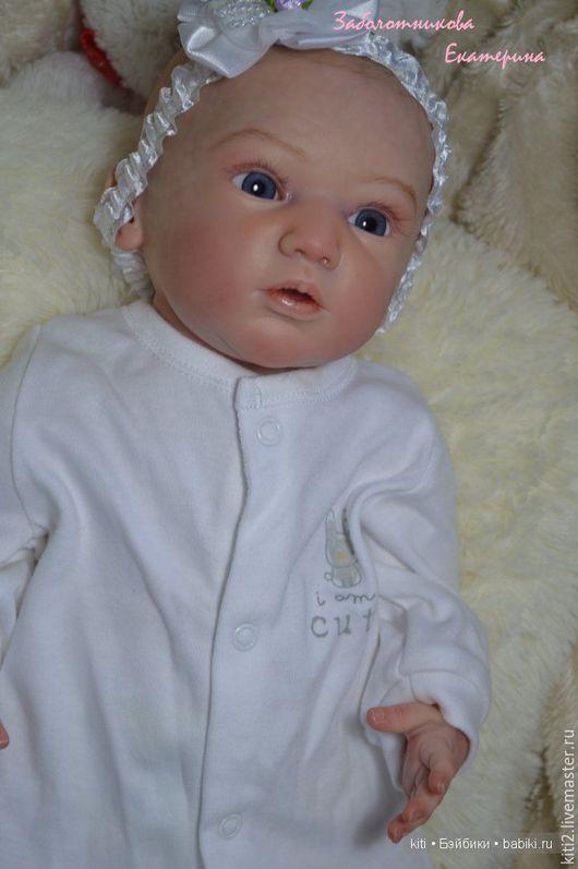 Куклы-младенцы и reborn ручной работы. Ярмарка Мастеров - ручная работа. Купить Кукла реборн Полина. Handmade. Кремовый, заболотникова
