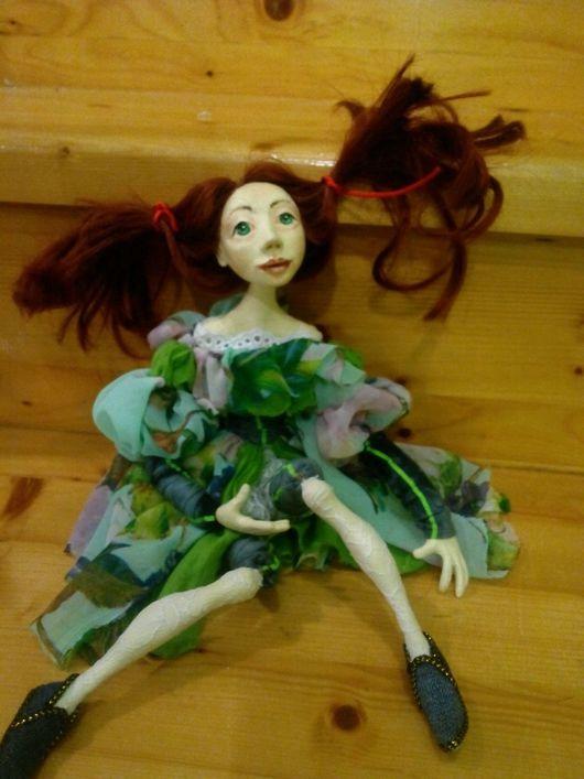 Коллекционные куклы ручной работы. Ярмарка Мастеров - ручная работа. Купить Кукла Полина.очень добрая нежная. Handmade.