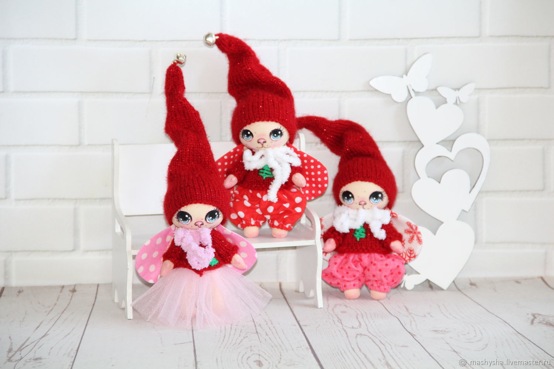 Набор мини Зайчат (3 шт.), Куклы и пупсы, Алексеевка,  Фото №1