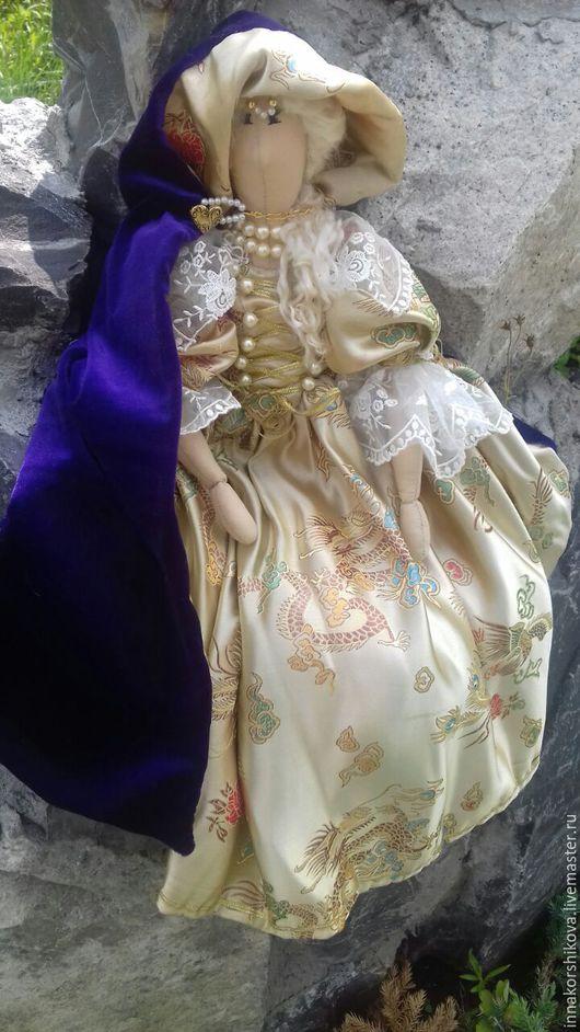 Куклы Тильды ручной работы. Ярмарка Мастеров - ручная работа. Купить Мари. Handmade. Золотой, текстильная кукла