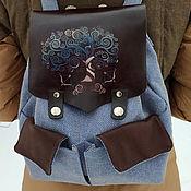 handmade. Livemaster - original item Brokilon Backpack