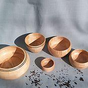 Для дома и интерьера ручной работы. Ярмарка Мастеров - ручная работа Кухонный деревянный набор 5 предметов.. Handmade.