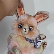 Куклы и игрушки ручной работы. Ярмарка Мастеров - ручная работа Зайчонок Зефир. Handmade.